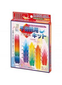 Бумага для оригами Toyo для создания 1000 журавликов [20 цветов; 1020 л.]