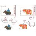 Суми-э на новогодних открытках: Техника изображения символа года ― быка