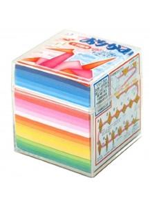 """Бумага для оригами """"1000 журавликов"""" [20 цветов; 1000 л.]"""