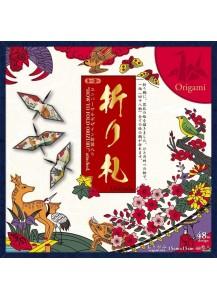 Бумага для оригами [Orifuda; 150x150мм, 48 л.]