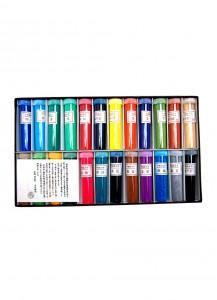 Минеральные краски для японской живописи от Ueba Esou [24 цвета]
