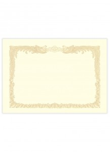 Бланки для сертификатов Sasagava №1067 [A4, 10 л.]