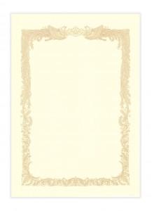 Бланки для сертификатов Sasagava №1068 [A4, 10 л.]
