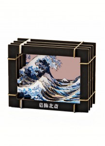 Большая волна в Канагаве [3D пазл]