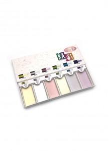 Набор перламутровых красок Aurora от Bokuundou [6 цветов]