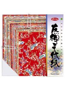 Бумага для оригами [Yuzen Chiyogami; 150x150мм, 20 л.]