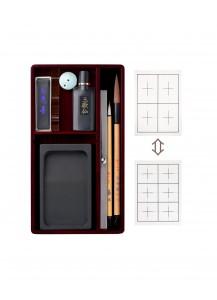 Подарочный набор для японской каллиграфии (сёдо) от Akashiya –Большой–