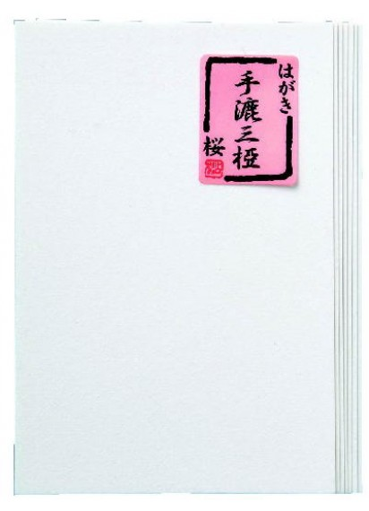 Хагаки Tesuki Mitsumata <Сакура> [100x148мм; 10 л.]