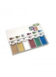 Набор акварельных красок Metallic от Bokuundou [6 цветов]