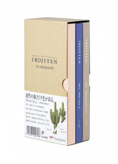 Набор цветных карандашей Irojiten [vol 4-6; 30 цветов]