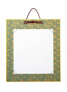 Рамка с подвесом для сикиси Donsu [темно-синяя]