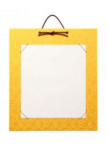 Тандзаку (золотой) [384x332 mm]