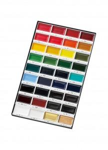 Набор акварельных красок Kuretake Gansai Tambi [36 цветов]