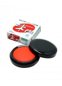 Красные штемпельные чернила Ecos [40-go; 42mm]
