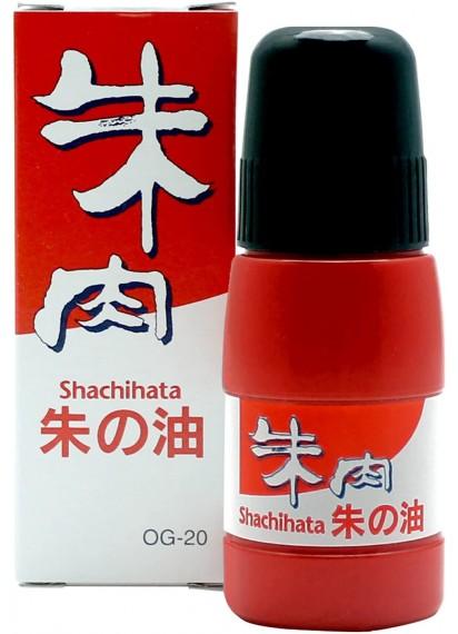 Красные штемпельные чернила от Shachihata [20ml]