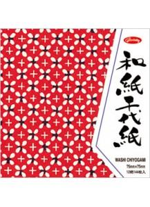 Бумага для оригами [Washi Chiyogami; 12 узоров; 144 л.]