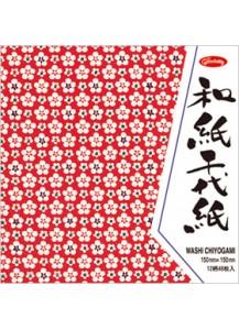 Бумага для оригами [Washi Chiyogami; 12 узоров; 48 л.]