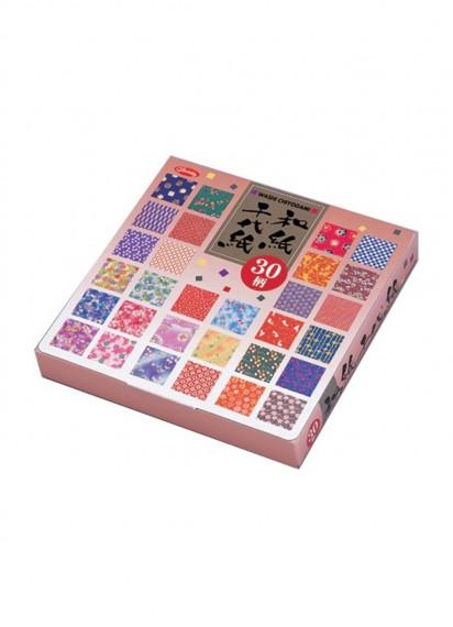 Бумага для оригами [Washi Chiyogami; 30 узоров; 150 л.]