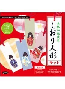 Набор для изготовления бумажных кукол для закладок