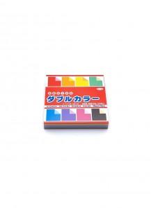 Бумага для оригами [Ryomen; 8 цветов; 150 л.; 75x75 mm]