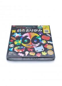 Бумага для оригами [Sousaku; 25 цветов; 200 л.; 150x150 mm]