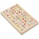 Набор деревянных кубиков для изучения японской азбуки хирагана
