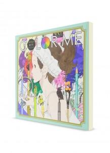 Накамура Юсукэ. Авторская книга-раскраска «Color Me»