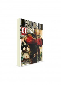 One-Punch Man / Ванпанчмен (01) ― Манга на японском языке
