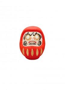 Японская кукла дарума каомодзи от Ryukodo –Всё будет хорошо– [красная; 65мм] / 6-952.H