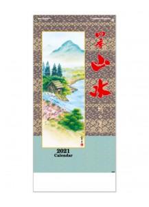 Японский настенный календарь на 2021 год от IC Calendar – Пейзажи четырех сезонов / IC-228 [76×35см]