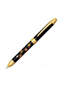 Ручка Double Action 3 в 1 с росписью макиэ от Platinum –Сакура–