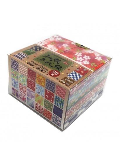 Бумага для оригами [Washi Chiyogami; 30 узоров; 360 л.]