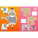 Крафтбук с 3D-фигурами Zukan NEO от Shōgakukan (новая версия) —Животные—
